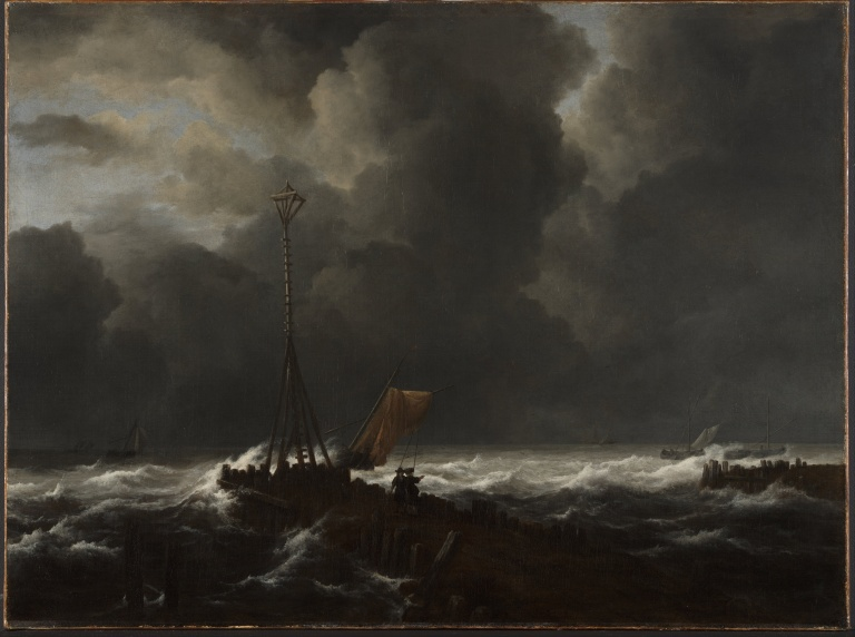 Jacob_van_Ruisdael_-_Rough_Sea_at_a_Jetty_-_Google_Art_Project