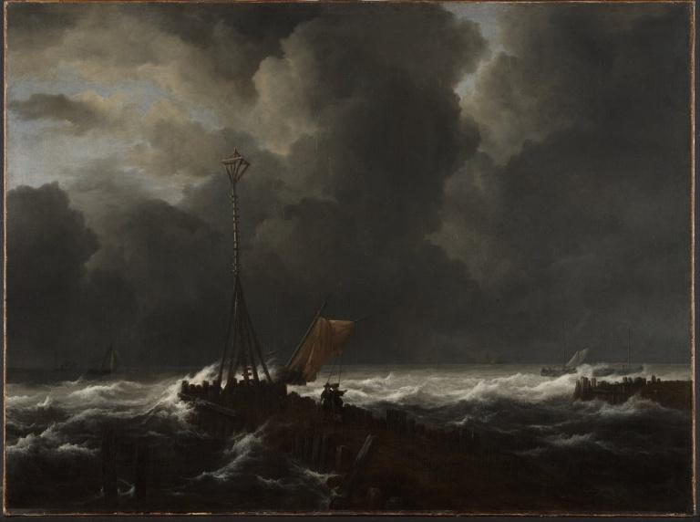 Jacob_van_Ruisdael_-_Rough_Sea_at_a_Jetty_-_Google_Art_Project
