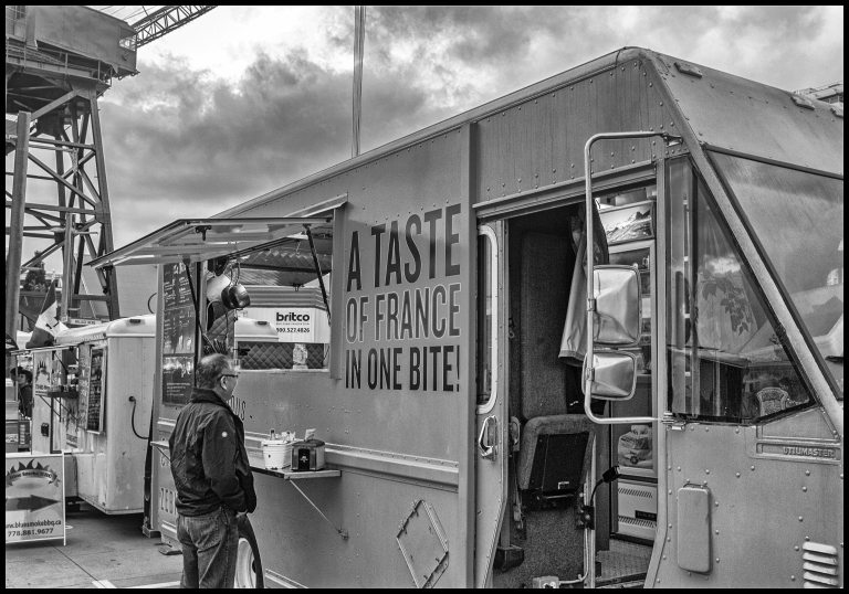 taste of France b&w