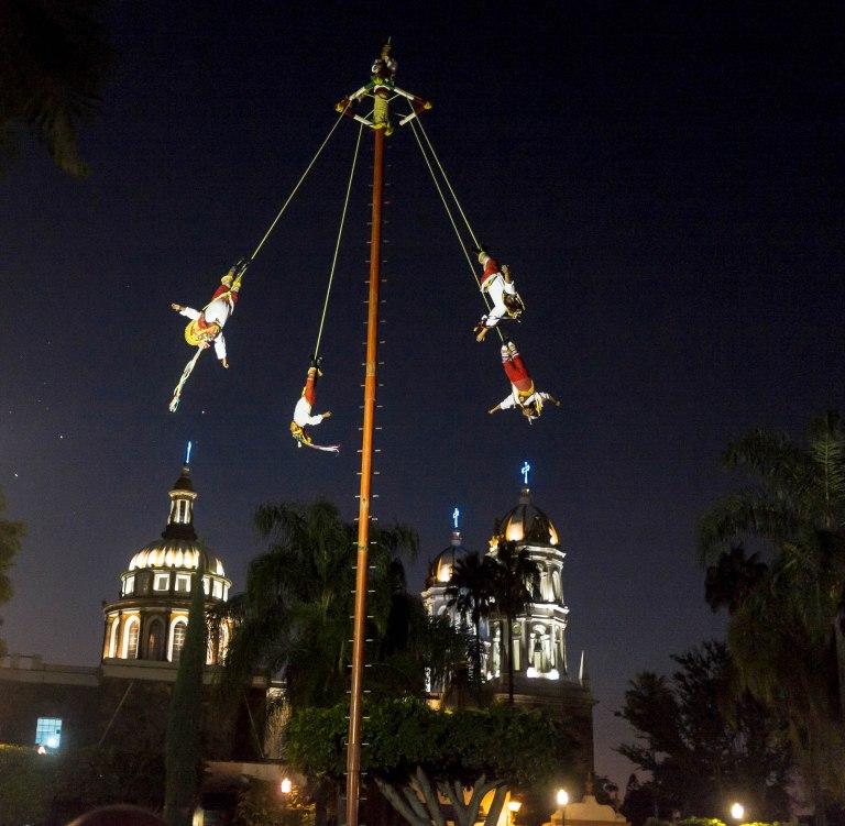 Voladores de Papantla, Tlaquapaque
