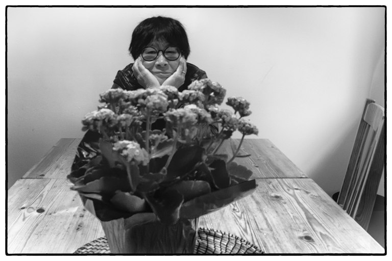 Keiko & plant
